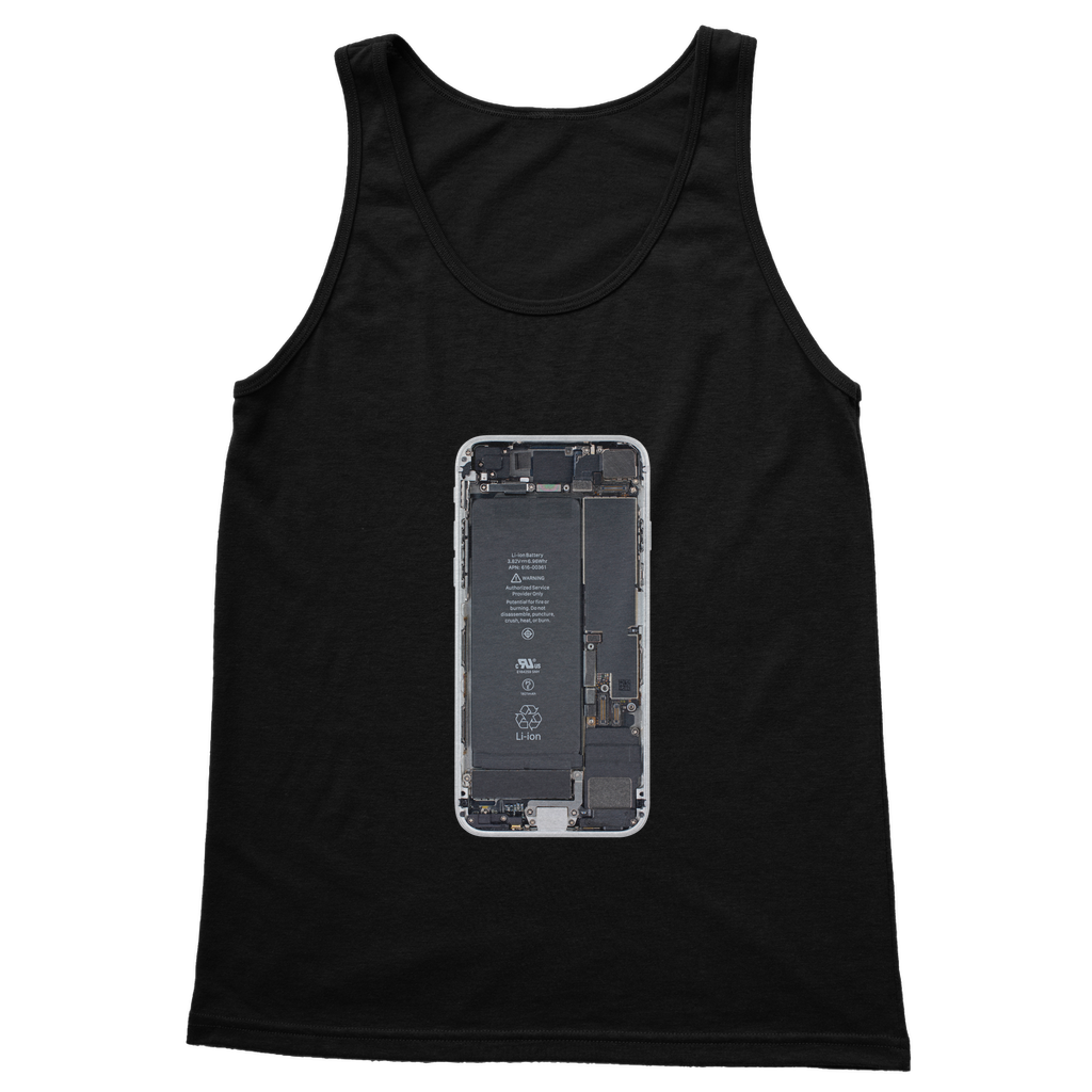 Iphone 8 Template For T Paita Mobishop Classic Adult Vest Top