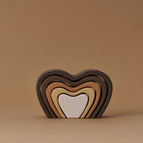Heart Arch Stacker - Skin Tones