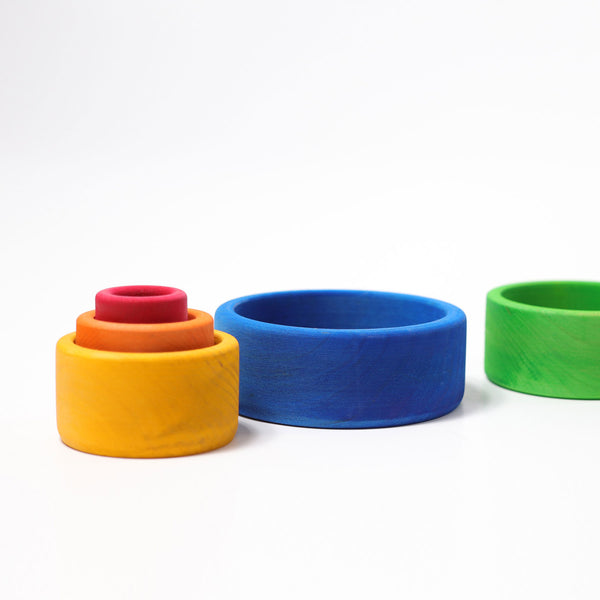 Set of Bowls Blue, Grimm's, KEKA TOYS