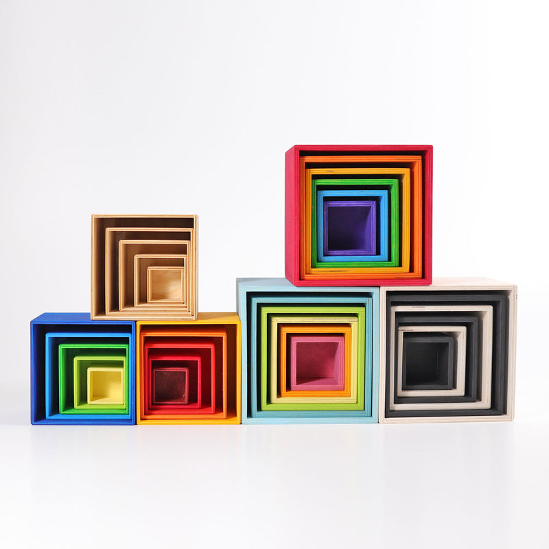 Large Set of Boxes Rainbow