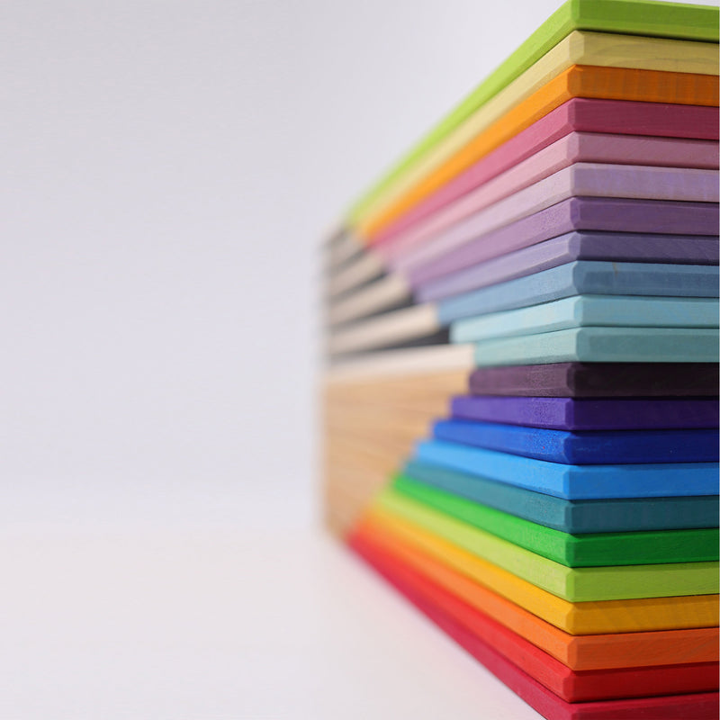 Building Boards Rainbow, Grimm's, KEKA TOYS