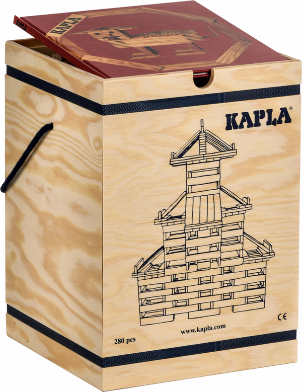 KAPLA CHEST - 280 pieces, KAPLA, KEKA TOYS, [HANDMADE], [WOODEN TOYS]