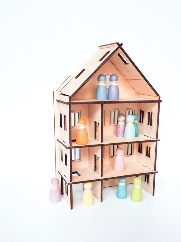 BUNDLE - My doll house, Kolekto, KEKA TOYS, [HANDMADE], [WOODEN TOYS]