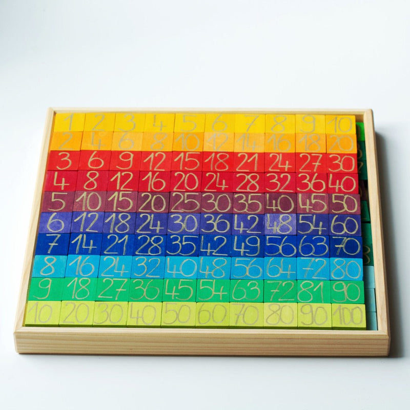 Counting with Colours, Grimm's, KEKA TOYS