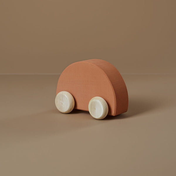 NEW - Toy Car - Apricot
