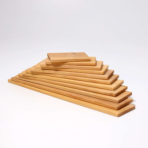 Building Boards Natural, Grimm's, KEKA TOYS