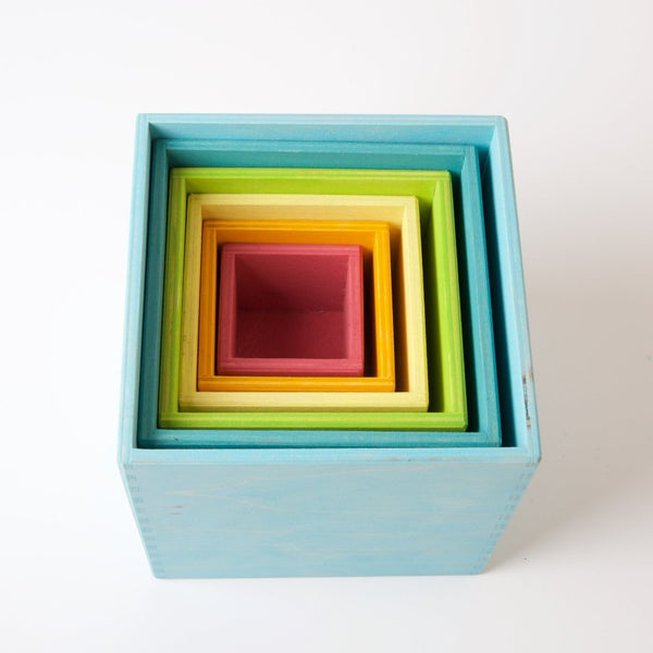 Large Set of Boxes Pastel