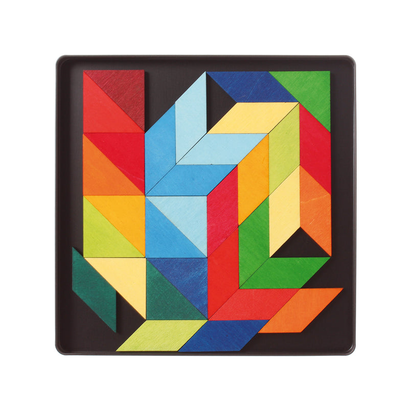 Magnetic Puzzle Square Indian