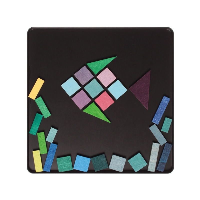 Magnetic Puzzle Geo-Graphical