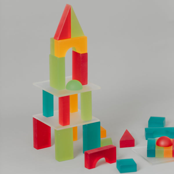 Lumi Translucent Building Blocks Box 5