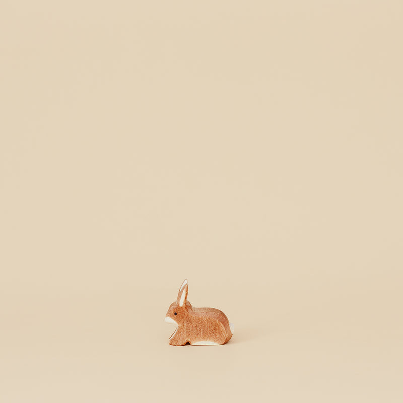 Spotted Brown Rabbit Sitting, Ostheimer, KEKA TOYS