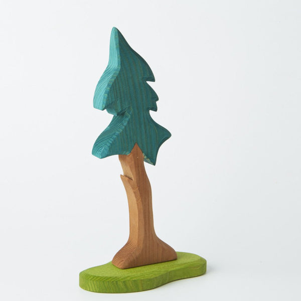 Spruce Tree - Tall with Trunk and Support, Ostheimer, KEKA TOYS