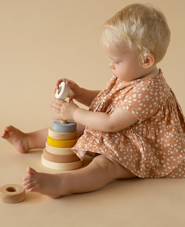 Sand Stacking Tower, Raduga Grez, KEKA TOYS