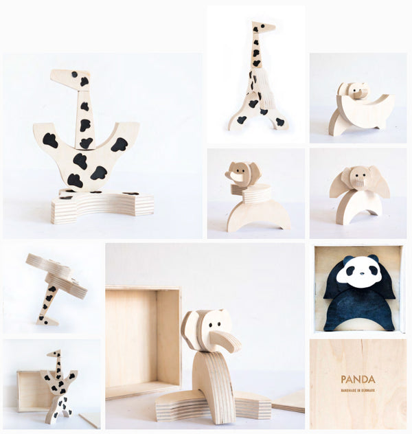Zoo bundle (Panda, Giraffe, Elephant)