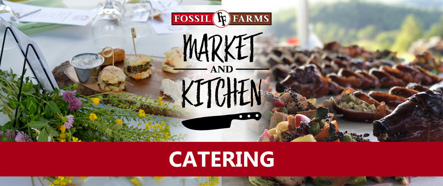 fossil farms catering