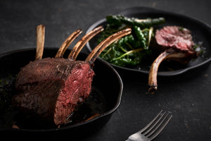 NZ Venison 4 Bone Frenched Rib Rack