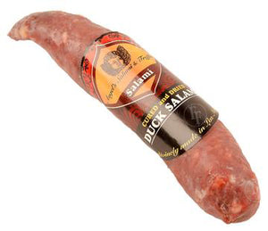 Cured Game <br> Duck Salami