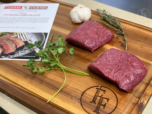 NZ Venison Loin Filet (2 EA. 6-8 OZ.)