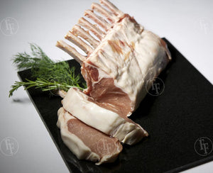 Wild Boar <br> 8 Bone <br> Frenched Rib Rack