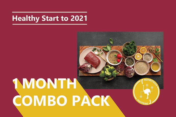 Healthy Start Box <BR> 1 Month Supply