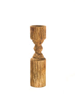 Load image into Gallery viewer, Natural Wooden Candle Holder