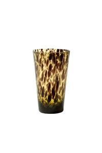 Tortoise Shell Tumbler Glasses