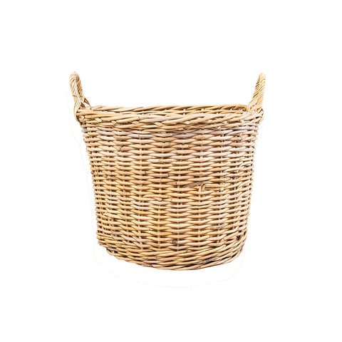 Wicker Basket Wide