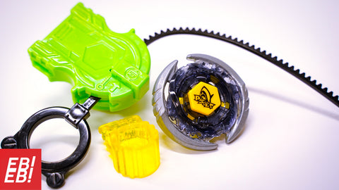 BEYBLADE HASBRO Metal Fusion Thermal Pisces T125ES + Launcher Masters Fury 4D - Extreme Beyblades!