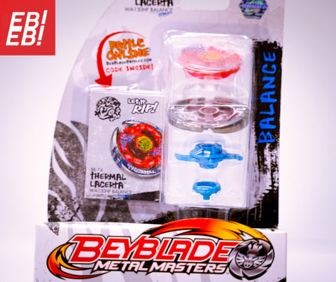 BEYBLADE HASBRO Metal Masters BB-74 Thermal Lacerta WA130HF Fusion Fury 4D - Extreme Beyblades!