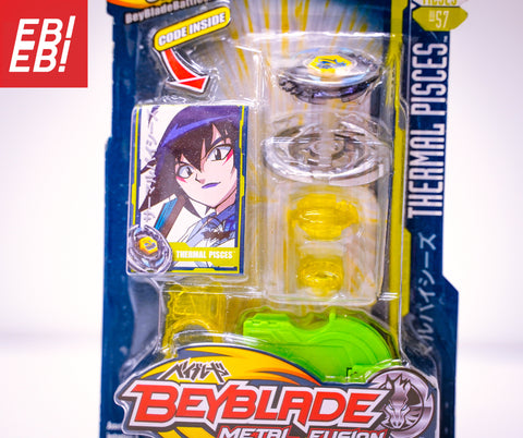 Beyblade Metal Fusion Thermal Pisces T125ES Single Pack BB-57 - Extreme Beyblades!