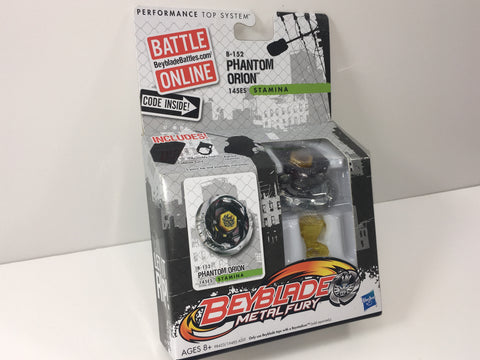 Beyblade Metal Fury Phantom Orion 145S Single Pack B-152 Stamina Type - Extreme Beyblades!
