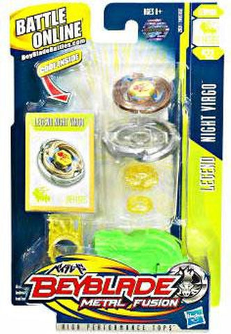 Beyblade Metal Fusion Legend Night Virgo DF145BS Single Pack BB-22 - Extreme Beyblades!