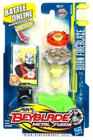 Beyblade Metal Fusion Burn Fireblaze 135MS Single Pack BB-59 - Extreme Beyblades!