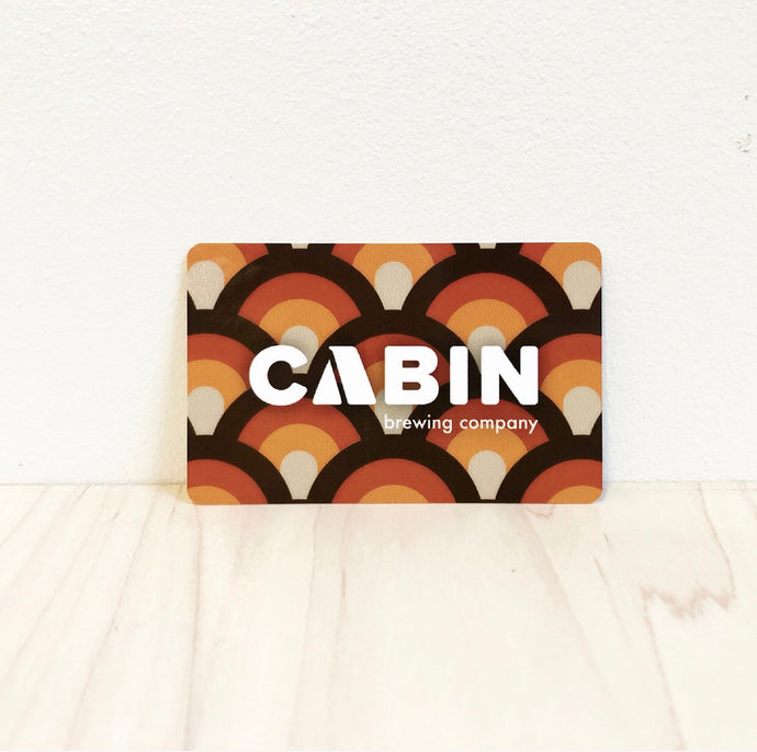 Cabin Brewing Company Gift Card