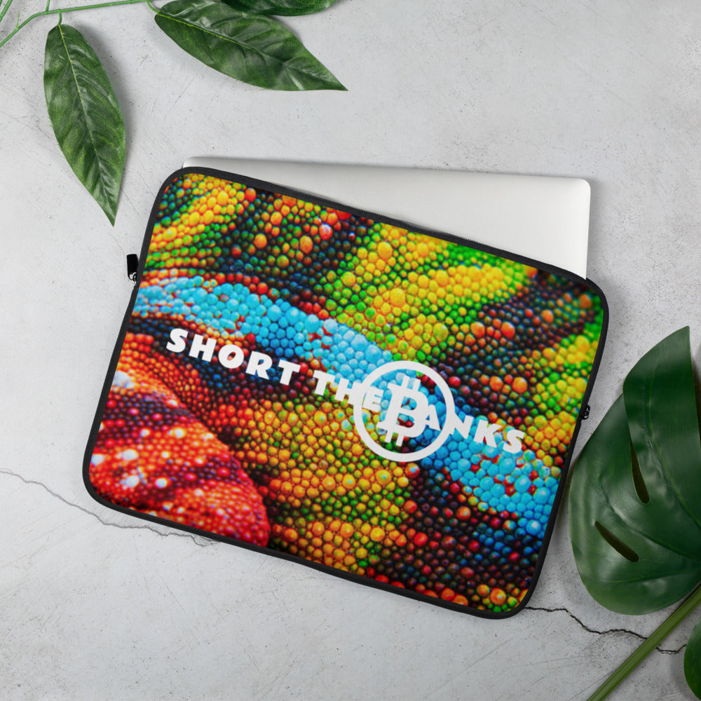 Short The Banks Color Rush Laptop Sleeve