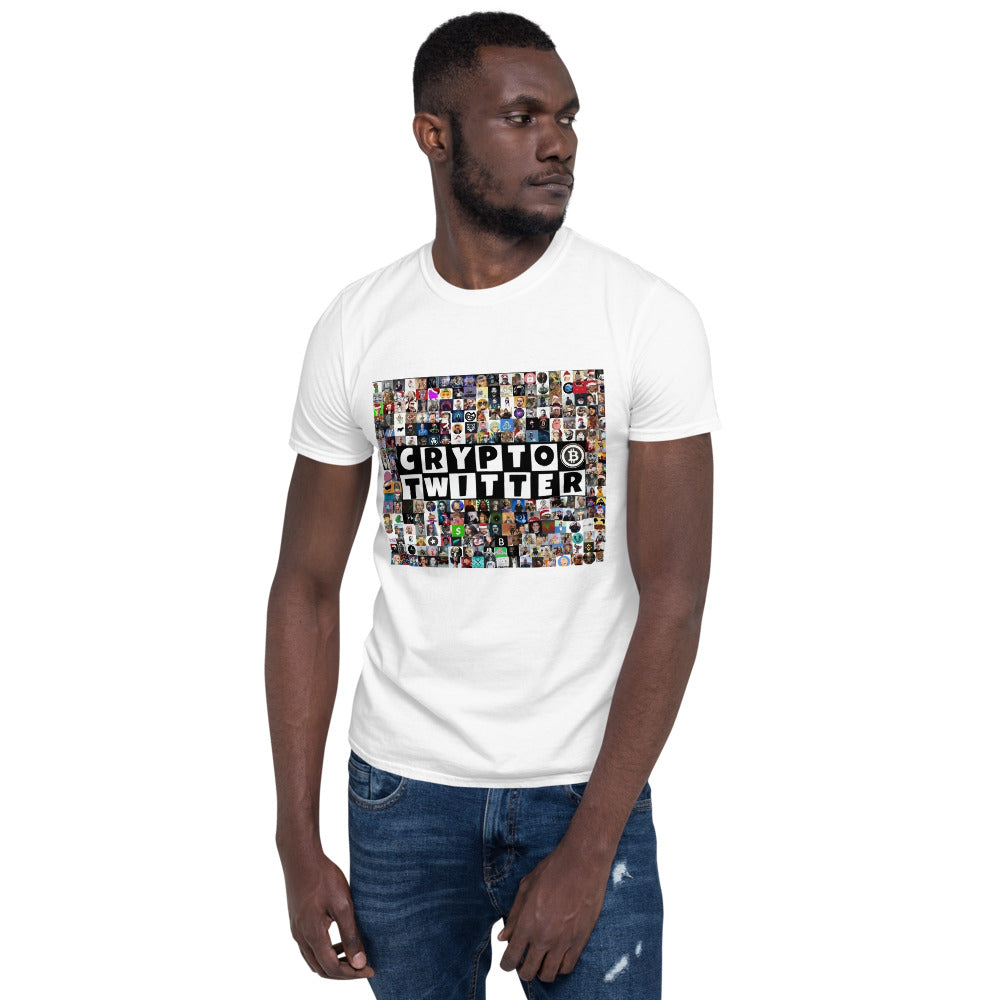 EXCLUSIVE Crypto Twitter Collage Short-Sleeve Unisex T-Shirt By @Mr_Anderson__