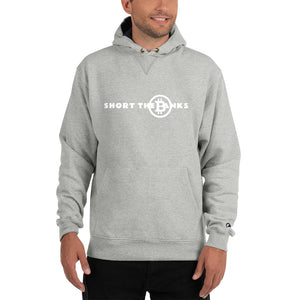Short The Banks White Logo Champion Hoodie