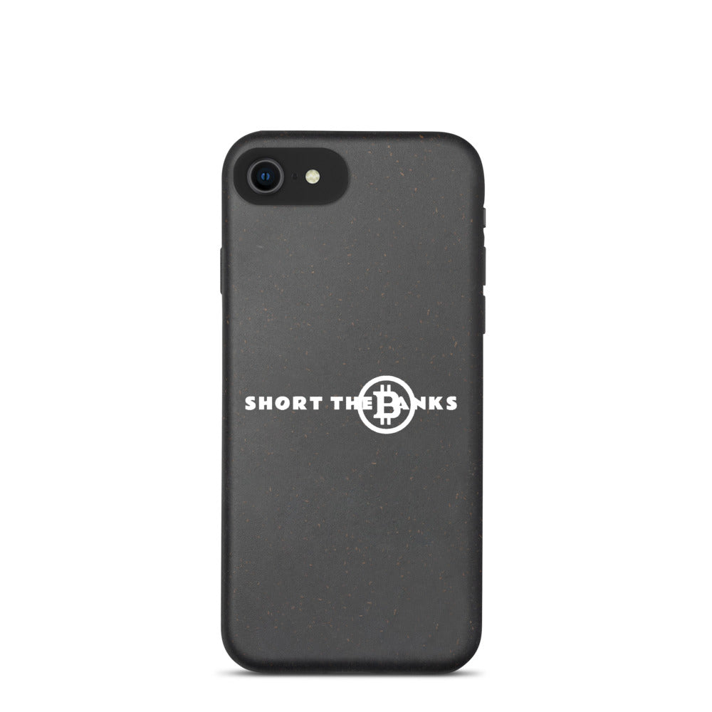 Short The Banks iPhone Biodegradable phone case