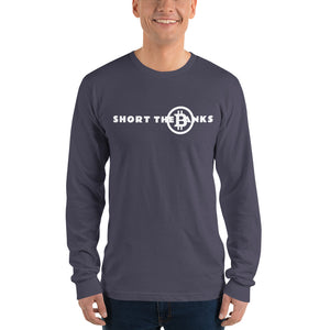 Short The Banks White logo Long sleeve t-shirt