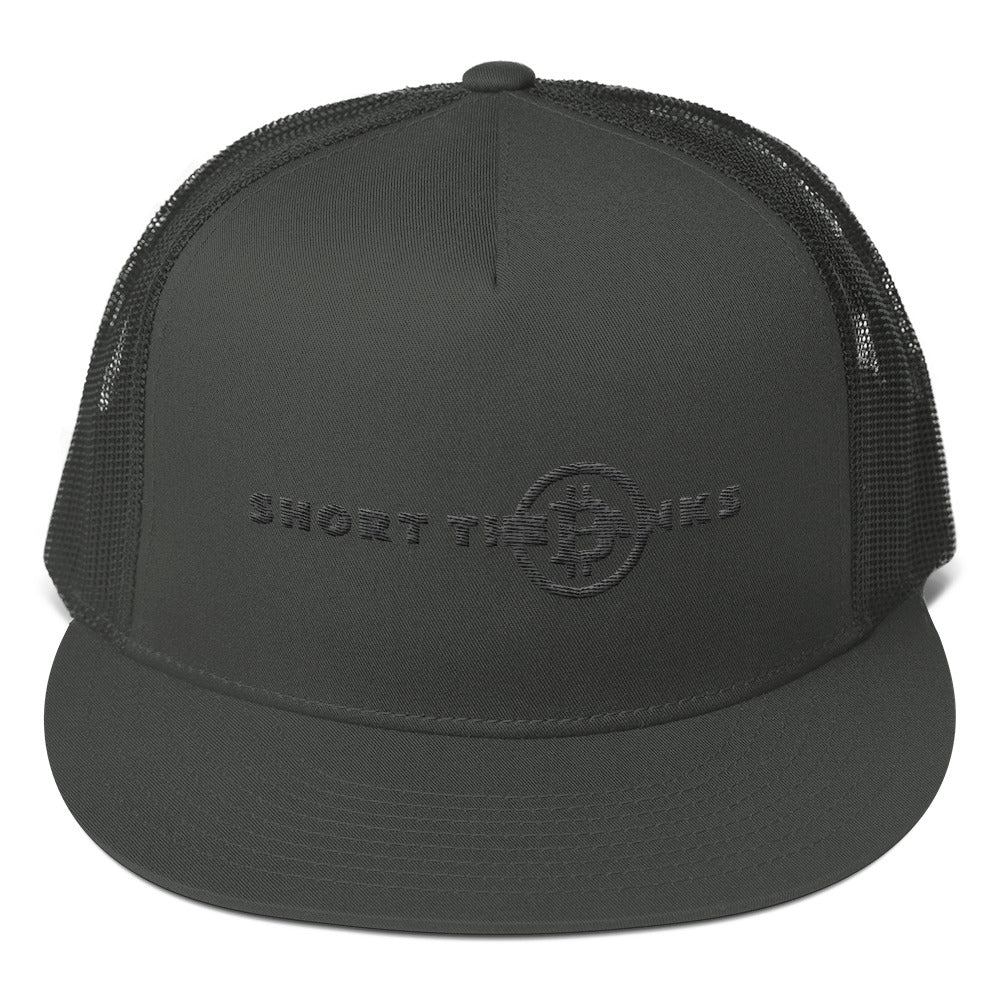 short the banks Trucker Cap