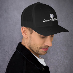 Leave The Banks With Litecoin Trucker Cap