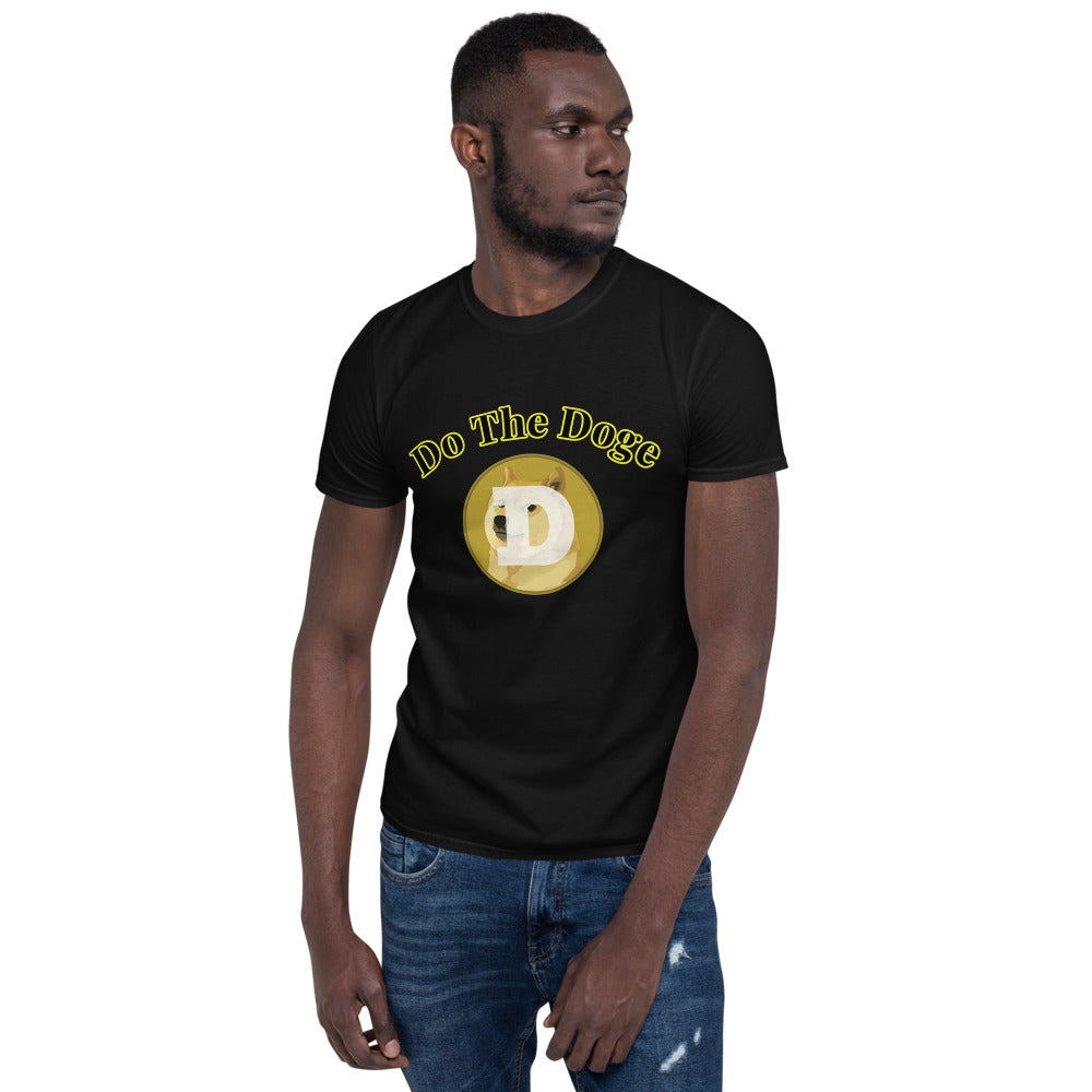DOGE COIN Do The Doge Short-Sleeve Unisex T-Shirt