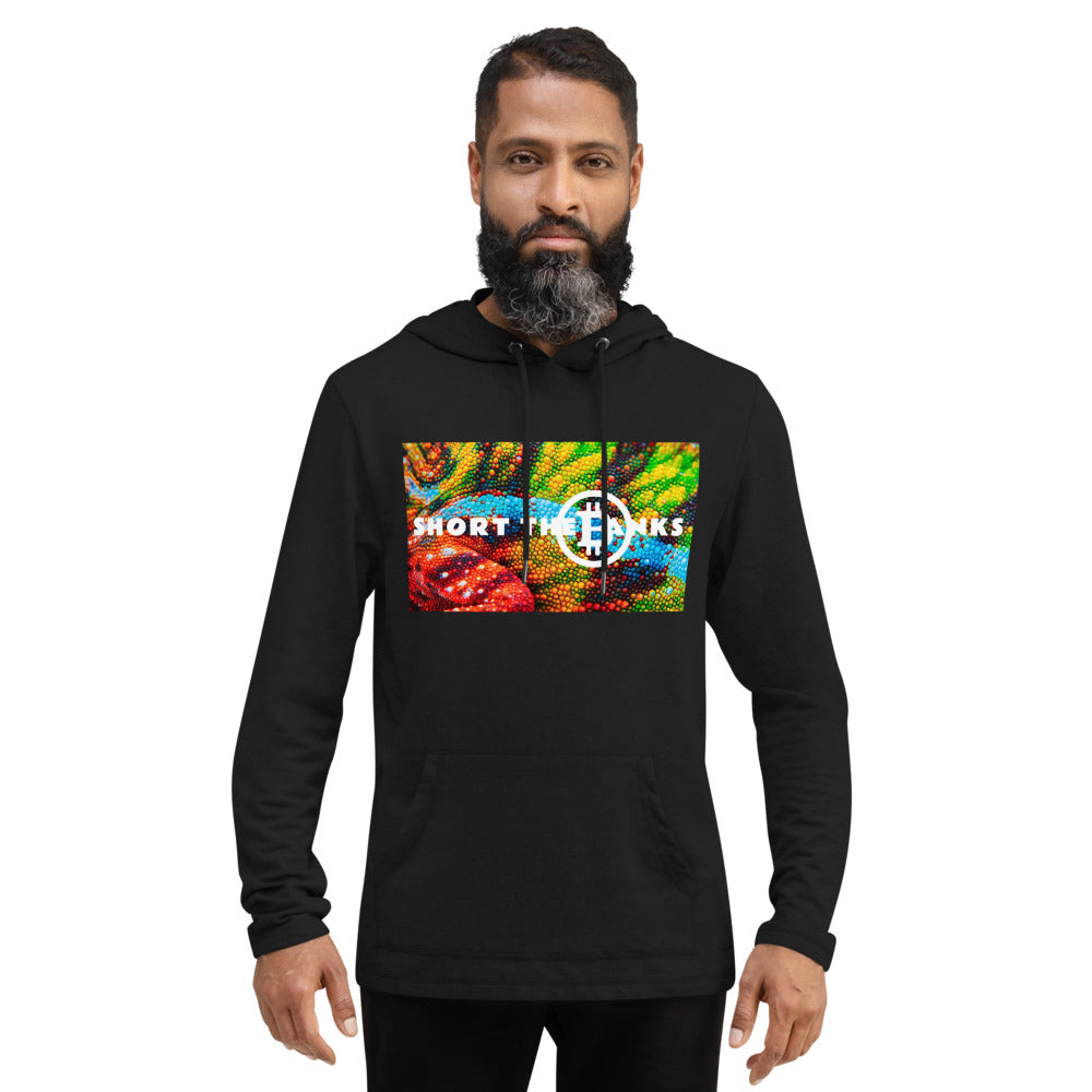 Short The Banks Color Rush Unisex Lightweight Hoodie