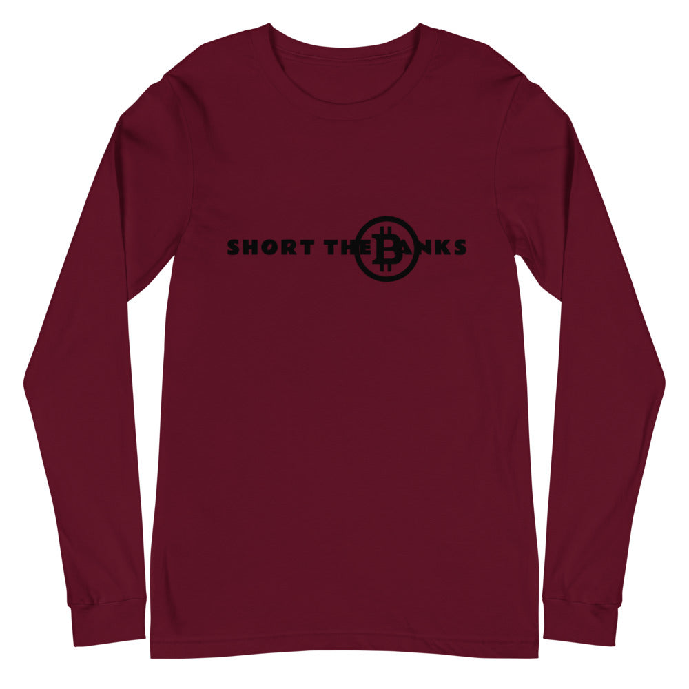 Short The Banks Unisex Long Sleeve Tee