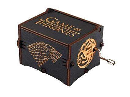 Caja Musical Game of Thrones Negra