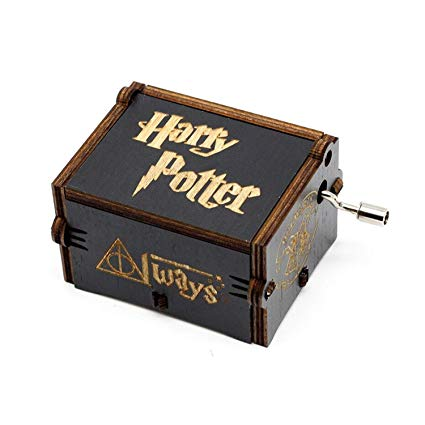 Caja Musical Harry Potter Negra