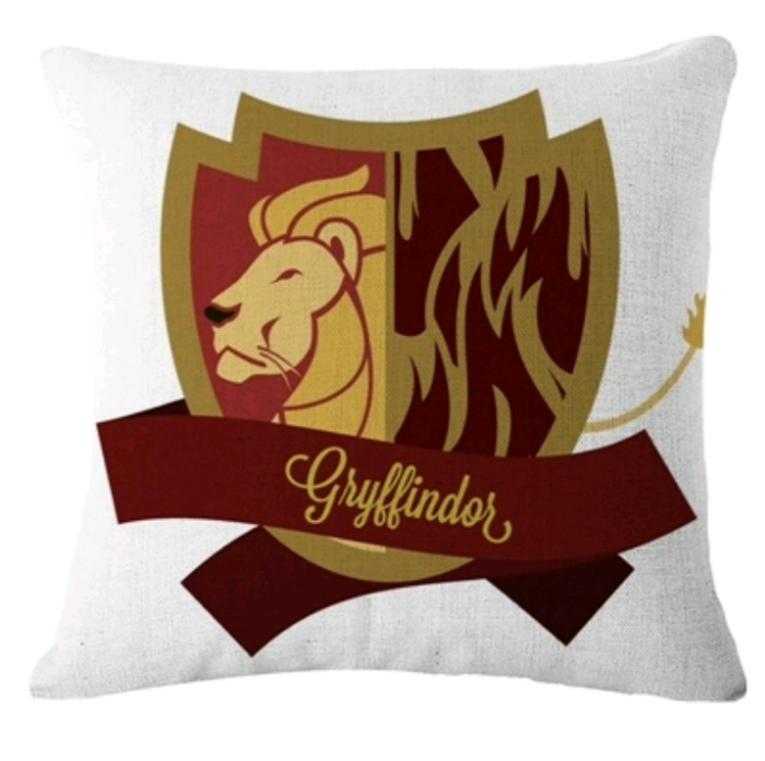 Cojín Casa Gryffindor Harry Potter