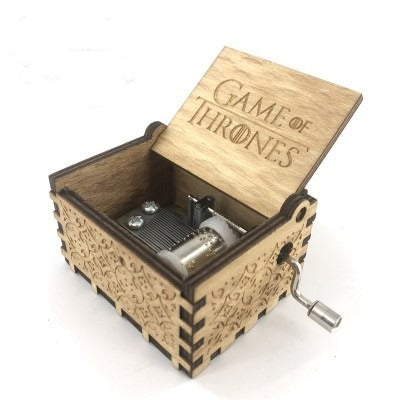 Caja Musical Game of Thrones de Madera