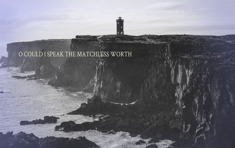 O Could I Speak the Matchless Worth.