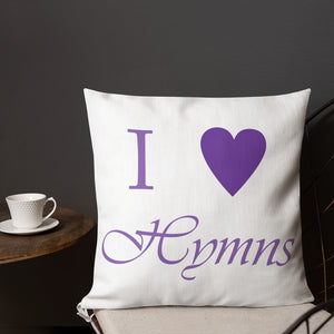I Heart Hymns Pillow